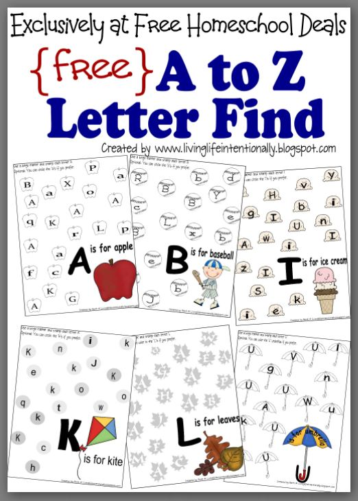 7 Best Images of Free Printable Letter Worksheets Packets ...