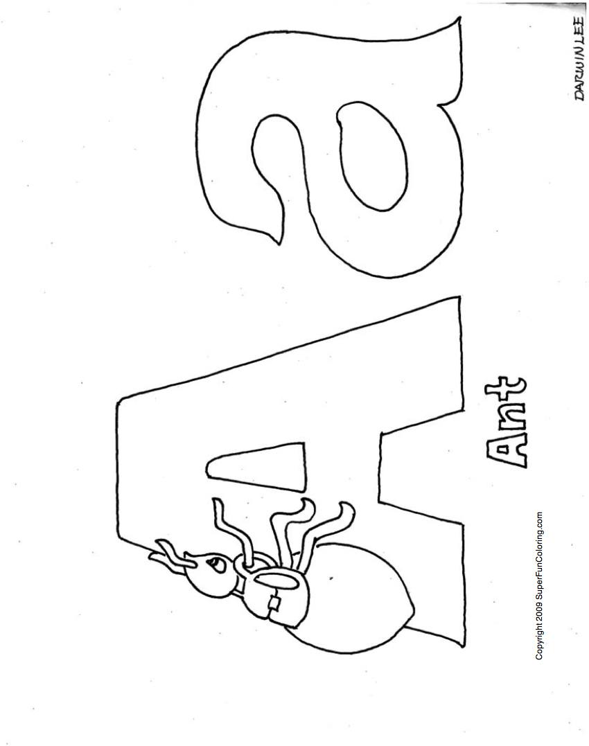 5 Images of Free Printable Alphabet Coloring Books