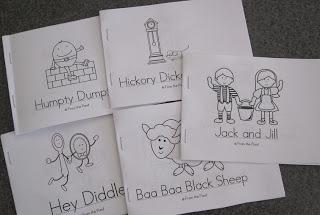 7 Images of Printable Nursery Rhyme Booklets