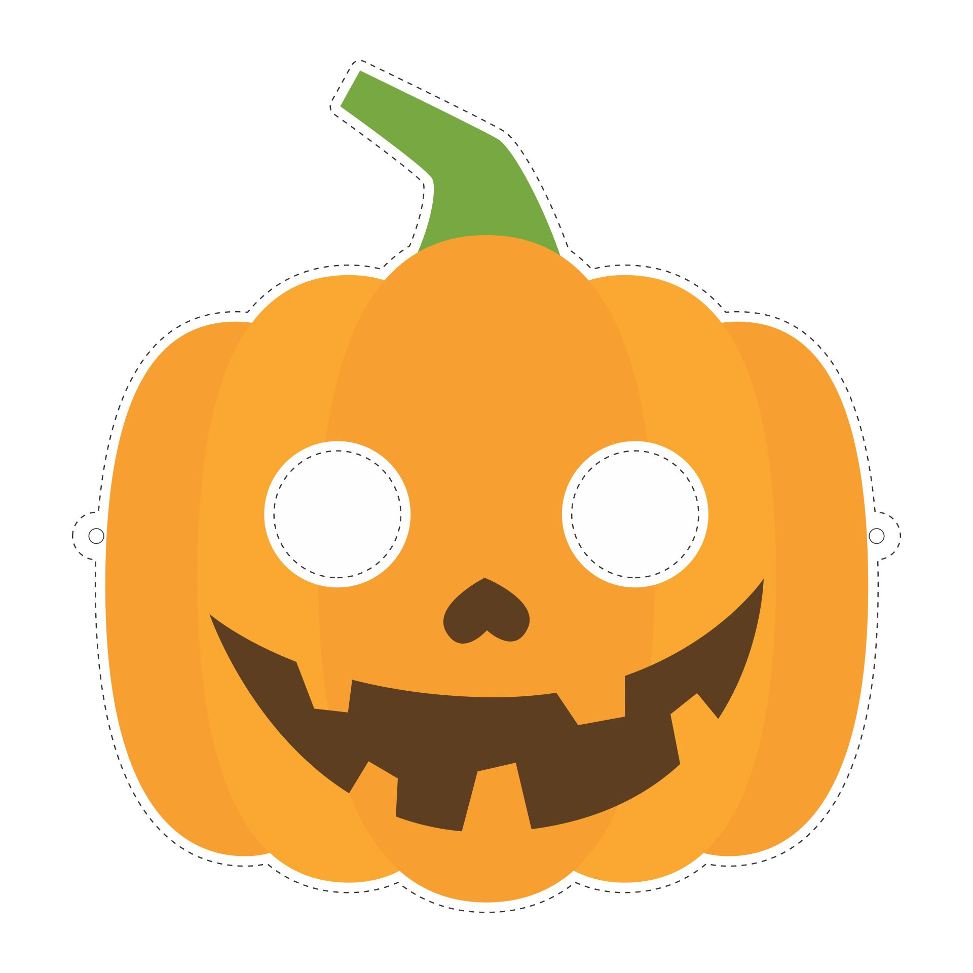 halloween coloring template