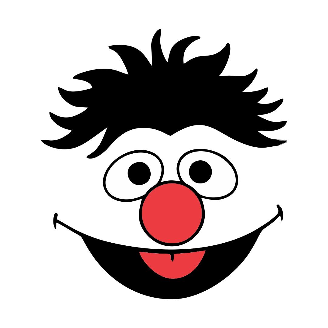 Sesame Street Ernie Face Template
