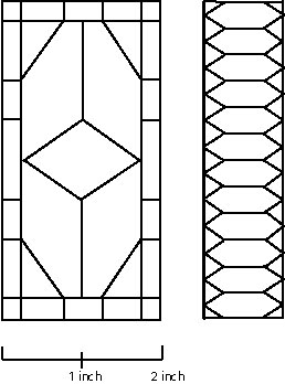 6 best images of window stained glass patterns printable for Window design template