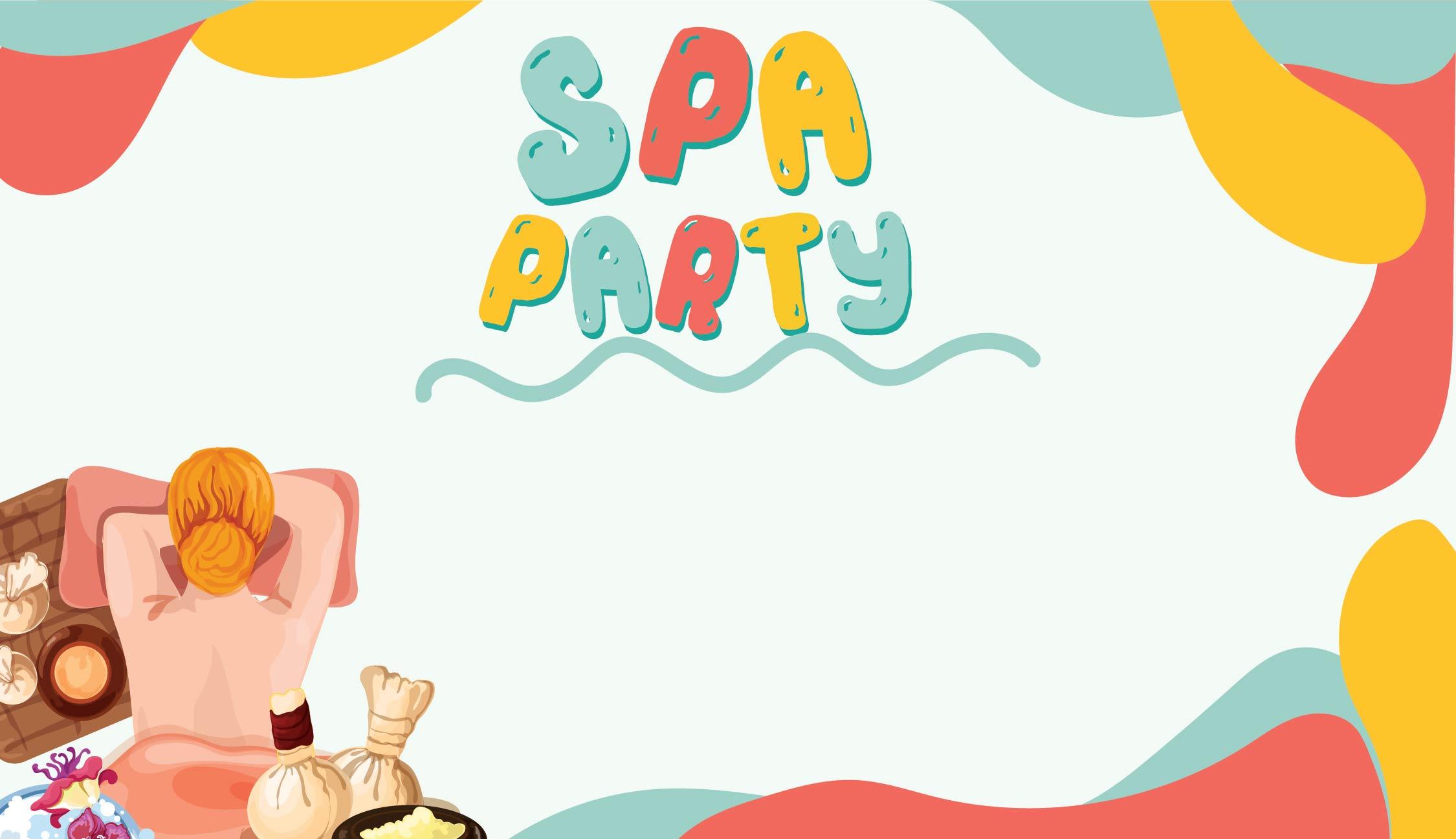 Spa Birthday Party Printables