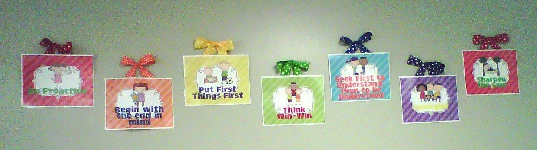 7 Habits of Happy Kids Free Printables