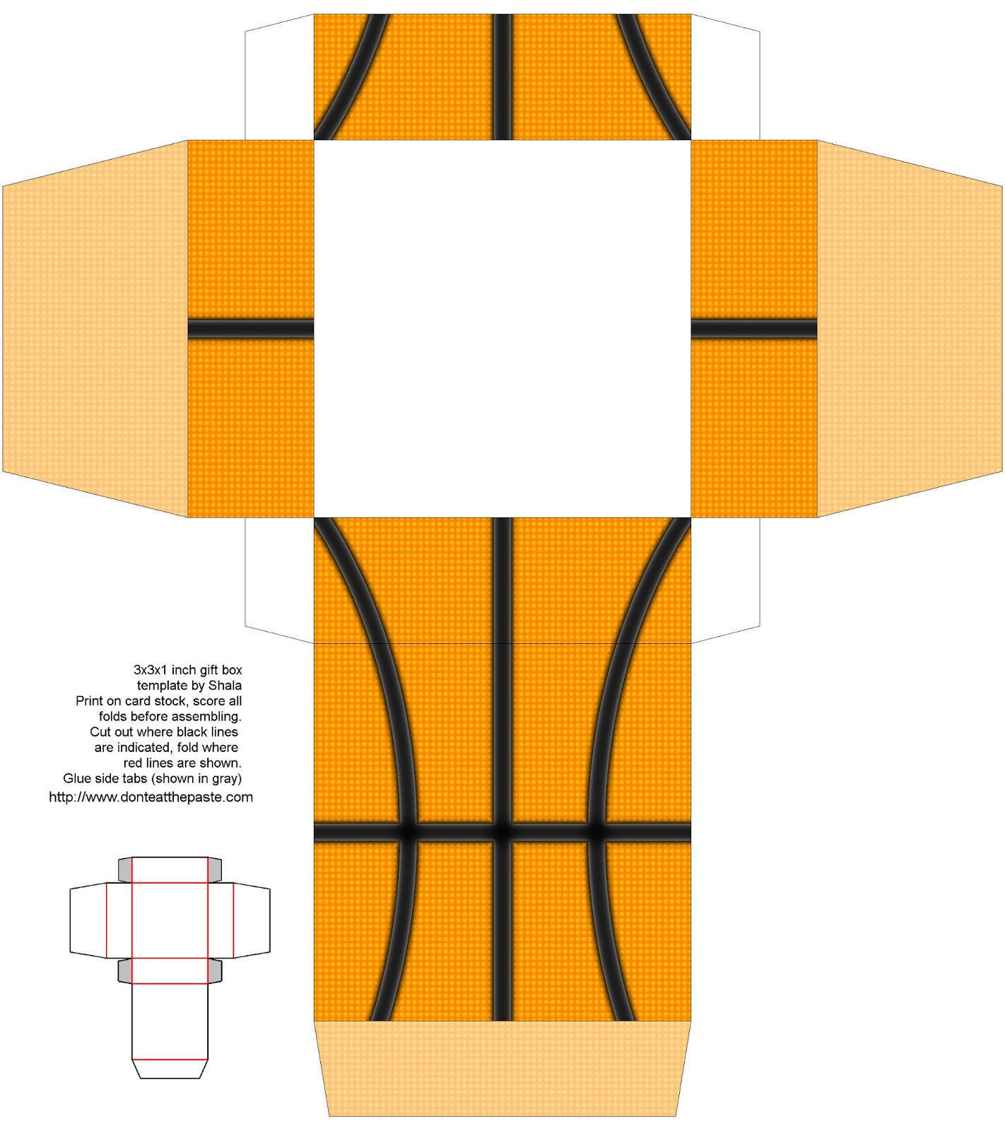 7 Images of Basketball Cut Out Printable