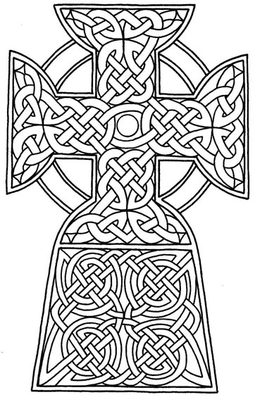 5 Images of Hard Cross Coloring Pages Printable