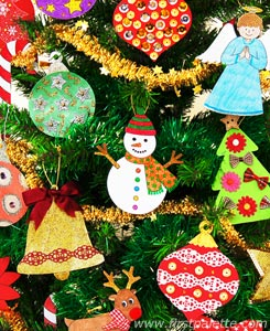 7 Images of Printable Christmas Themes