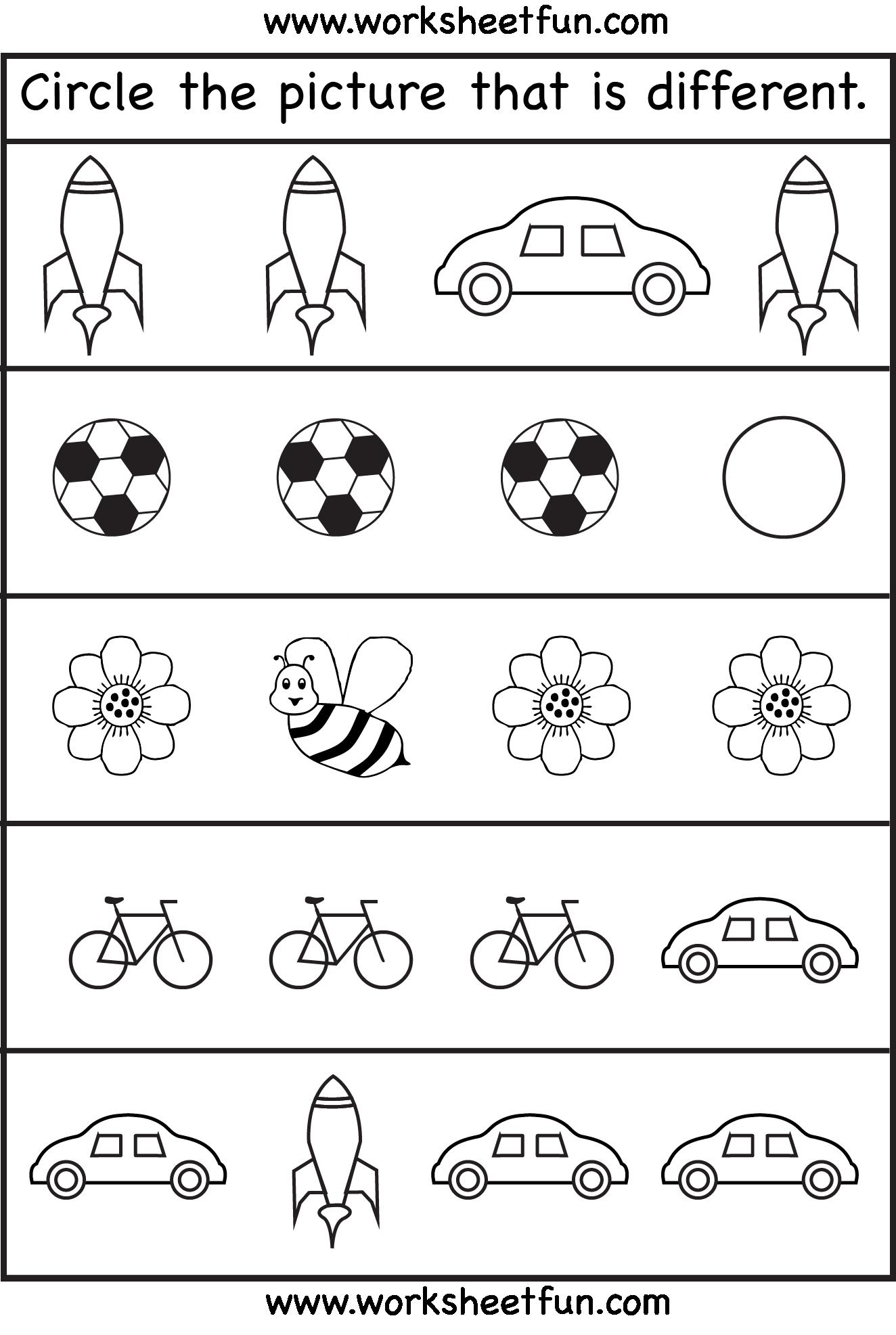 Pre K Science Worksheets : Best images of preschool science printables pre k five