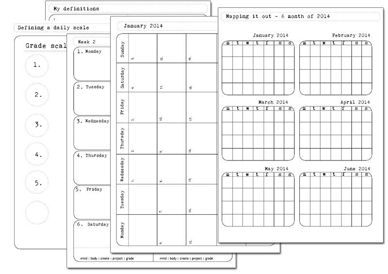 Calendar Diy Printable : Best images of diy free printable calendar d i y