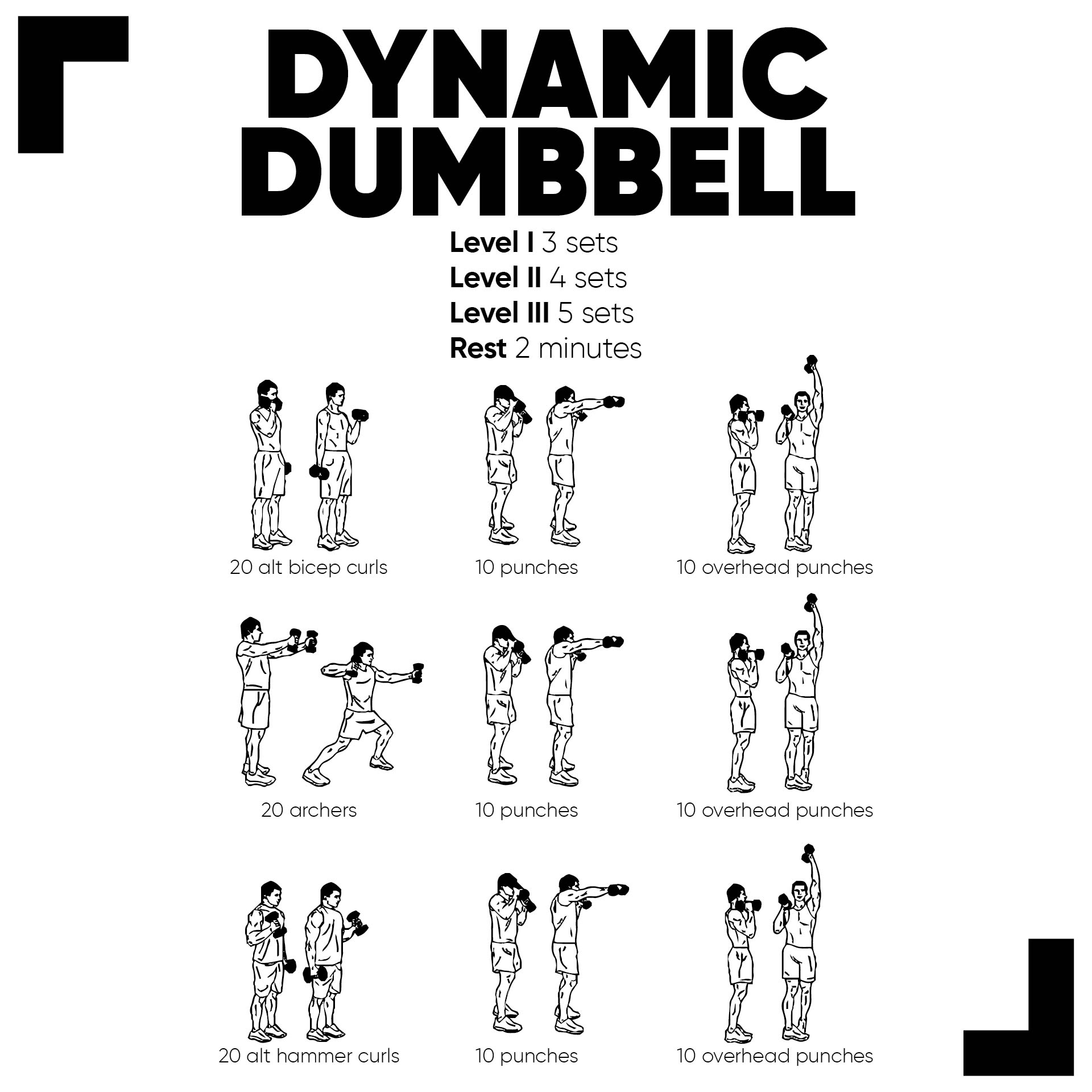 Dumbbell Exercise Chart PDF