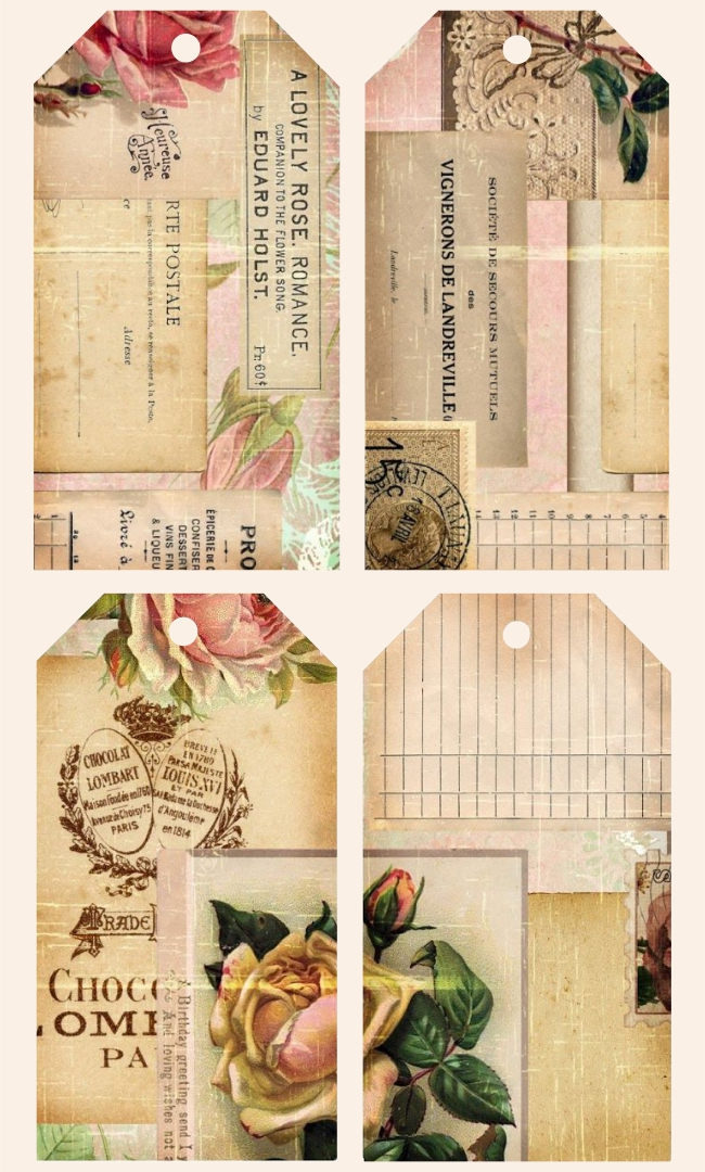 Ephemera's Garden Freebie Vintage Printables