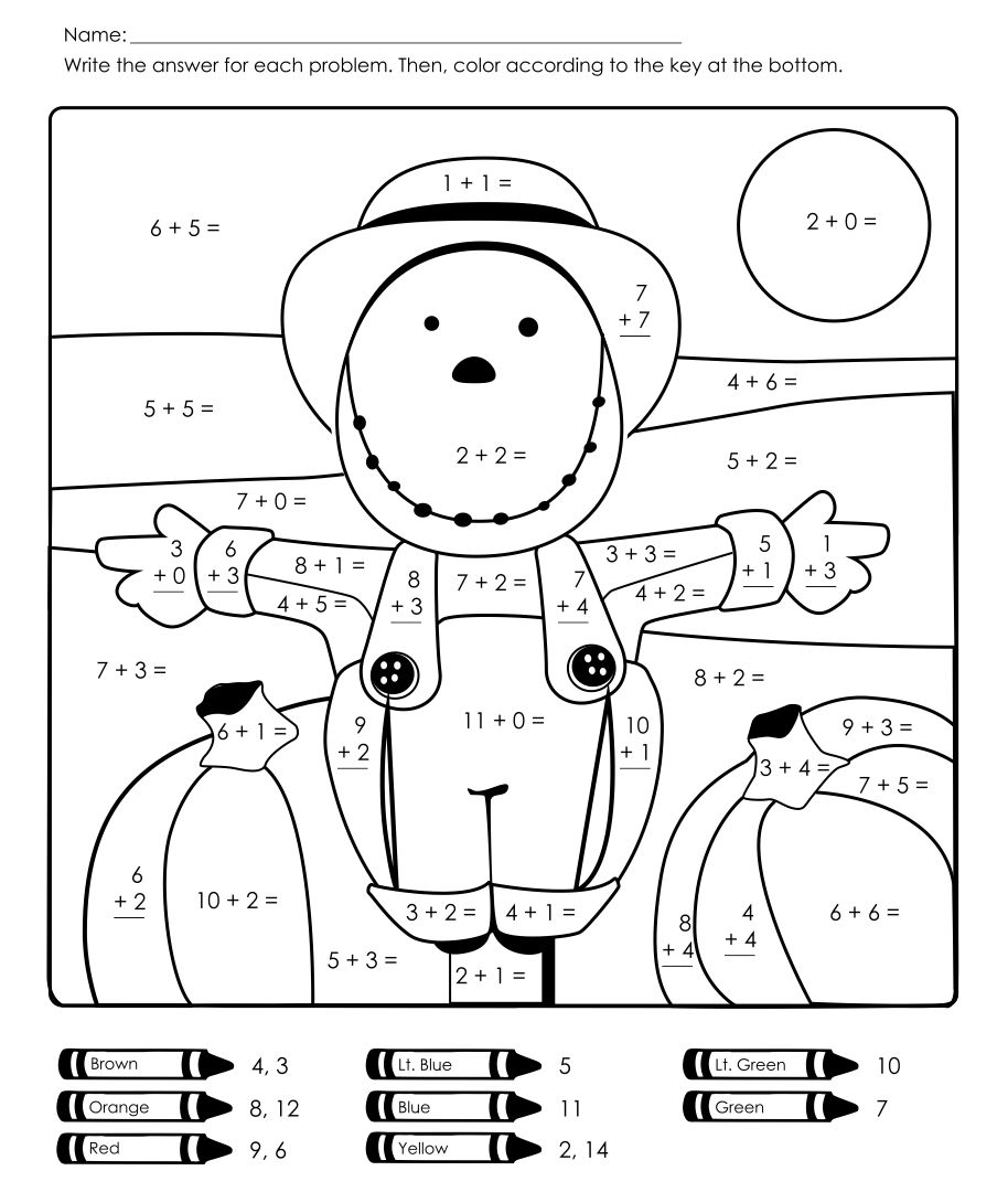 Printables Fun Math Worksheets 4th Grade halloween worksheets for fourth grade free comstume math number recognition