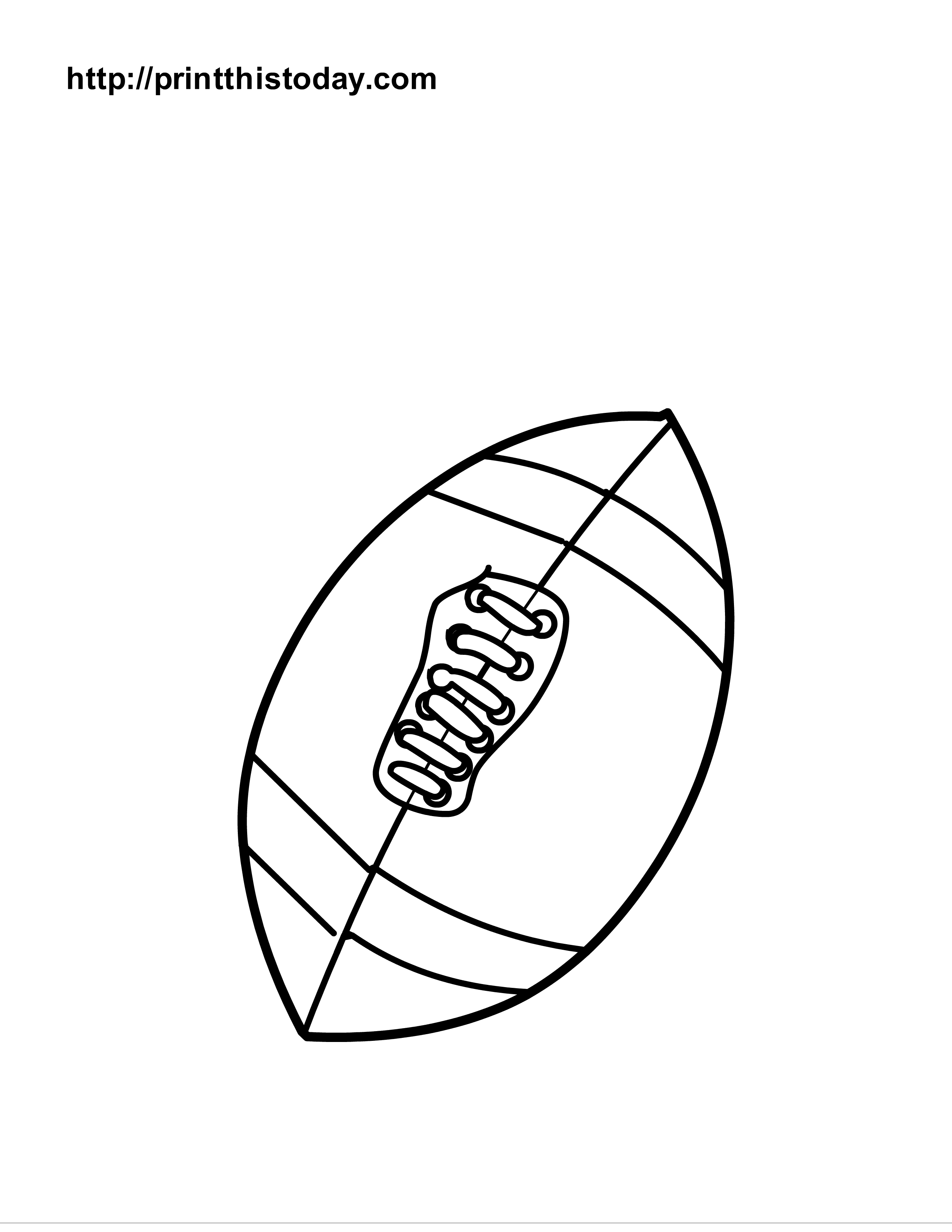 6 Images of Printable Sports Ball Templates