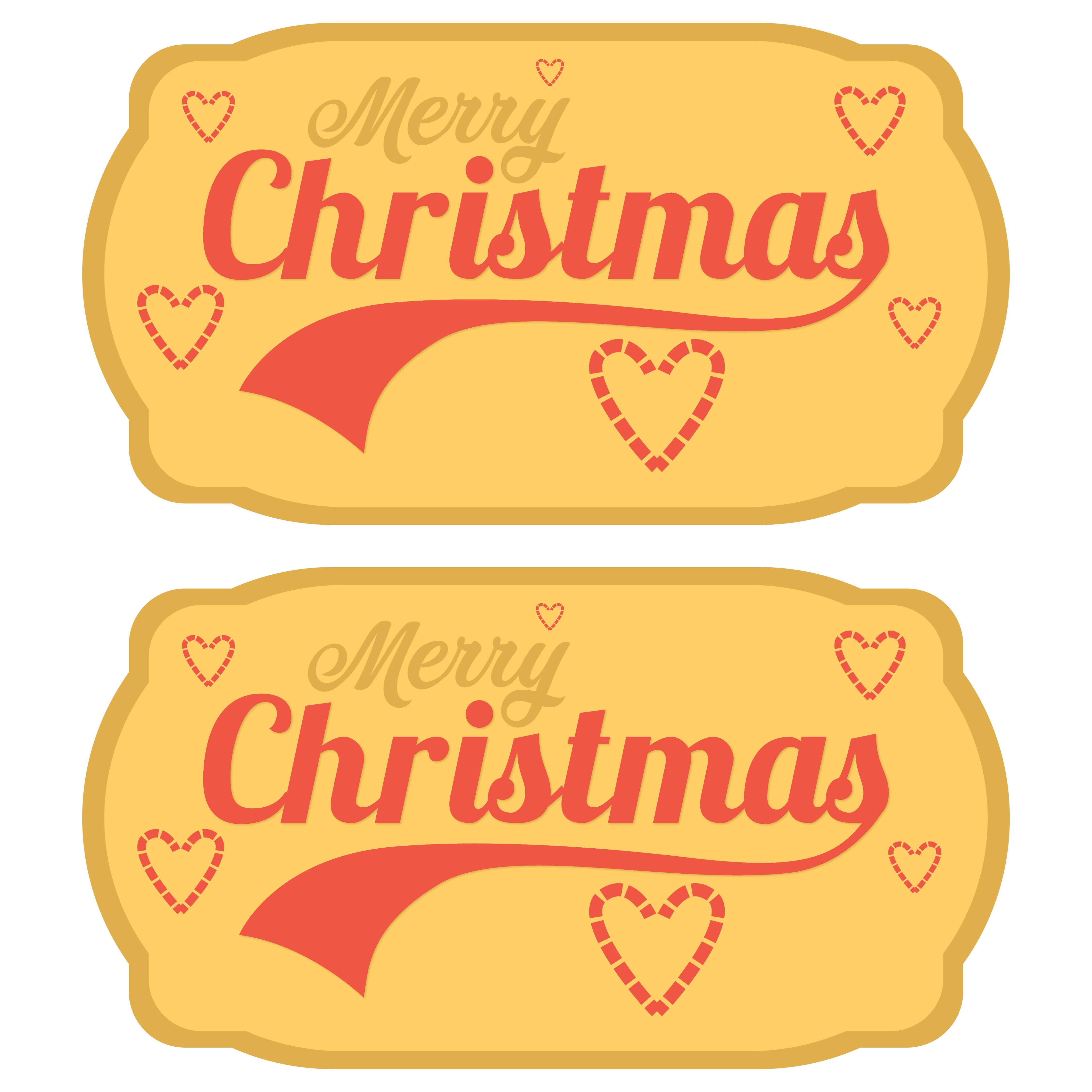 6 Images of Cute Free Printable Christmas Tags