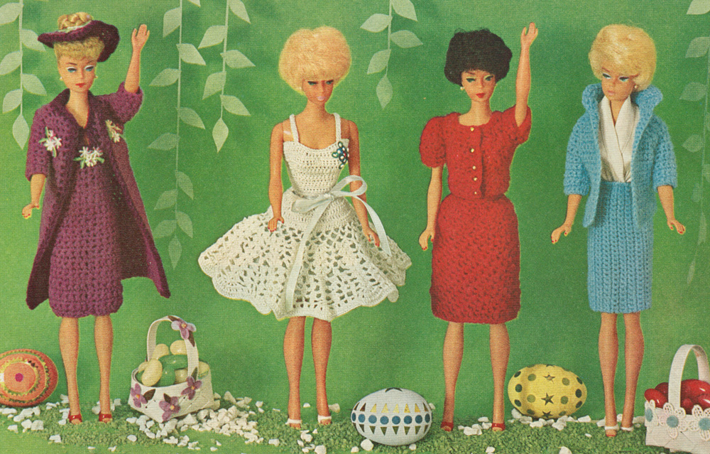 7 Best Images of Bed Doll Patterns Barbie Clothes Free Printable - McCall...
