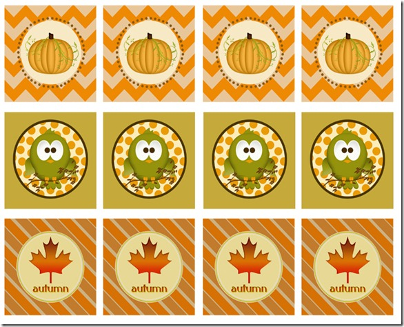 8 Images of Fall Printable Tags