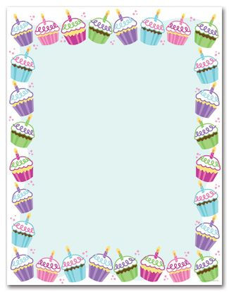 7 Images of Free Printable Cupcake Stationery