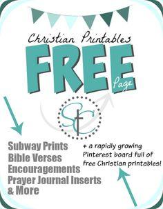 Free Printable Christian Word Art Prayer