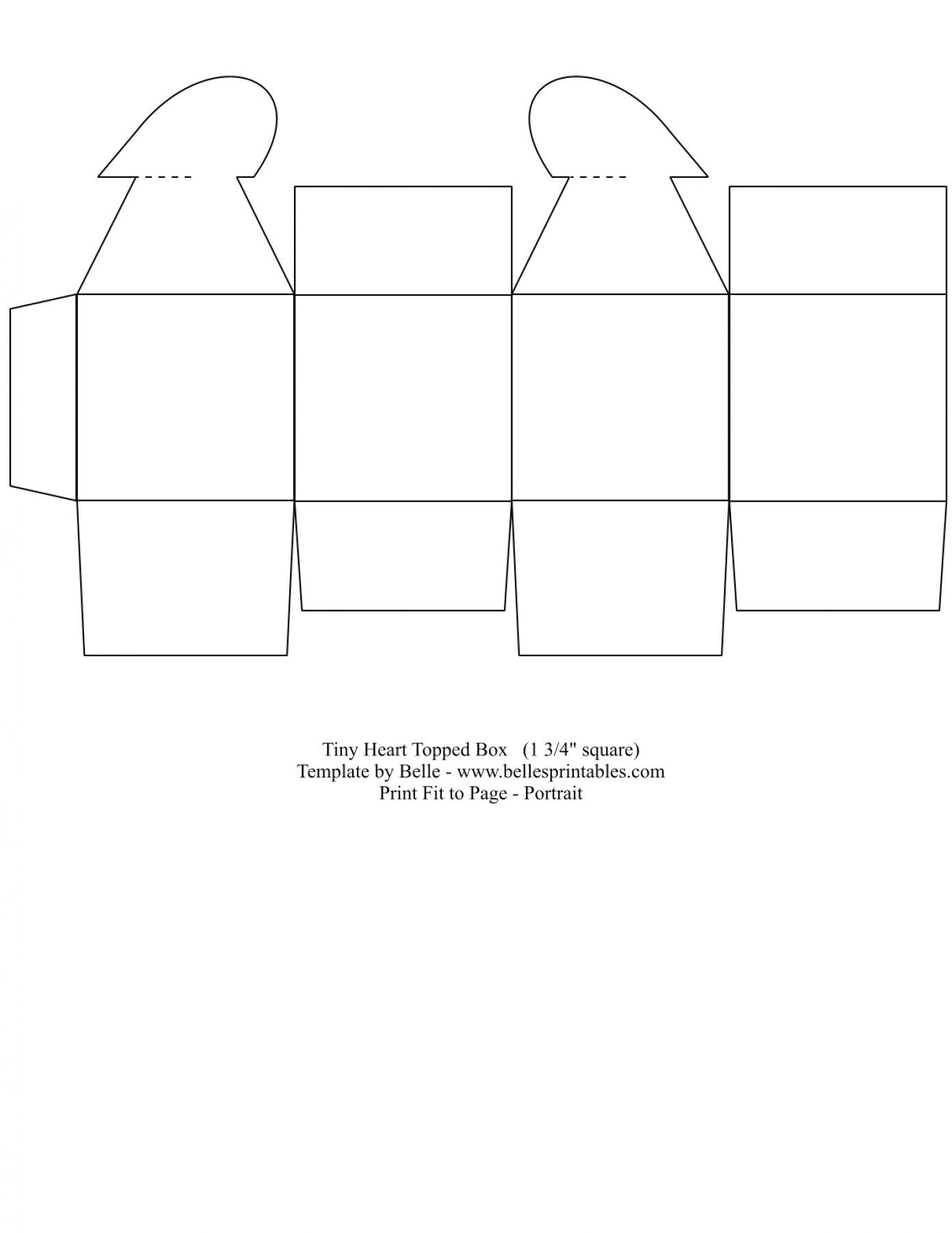 Free Printable Gift Box Templates