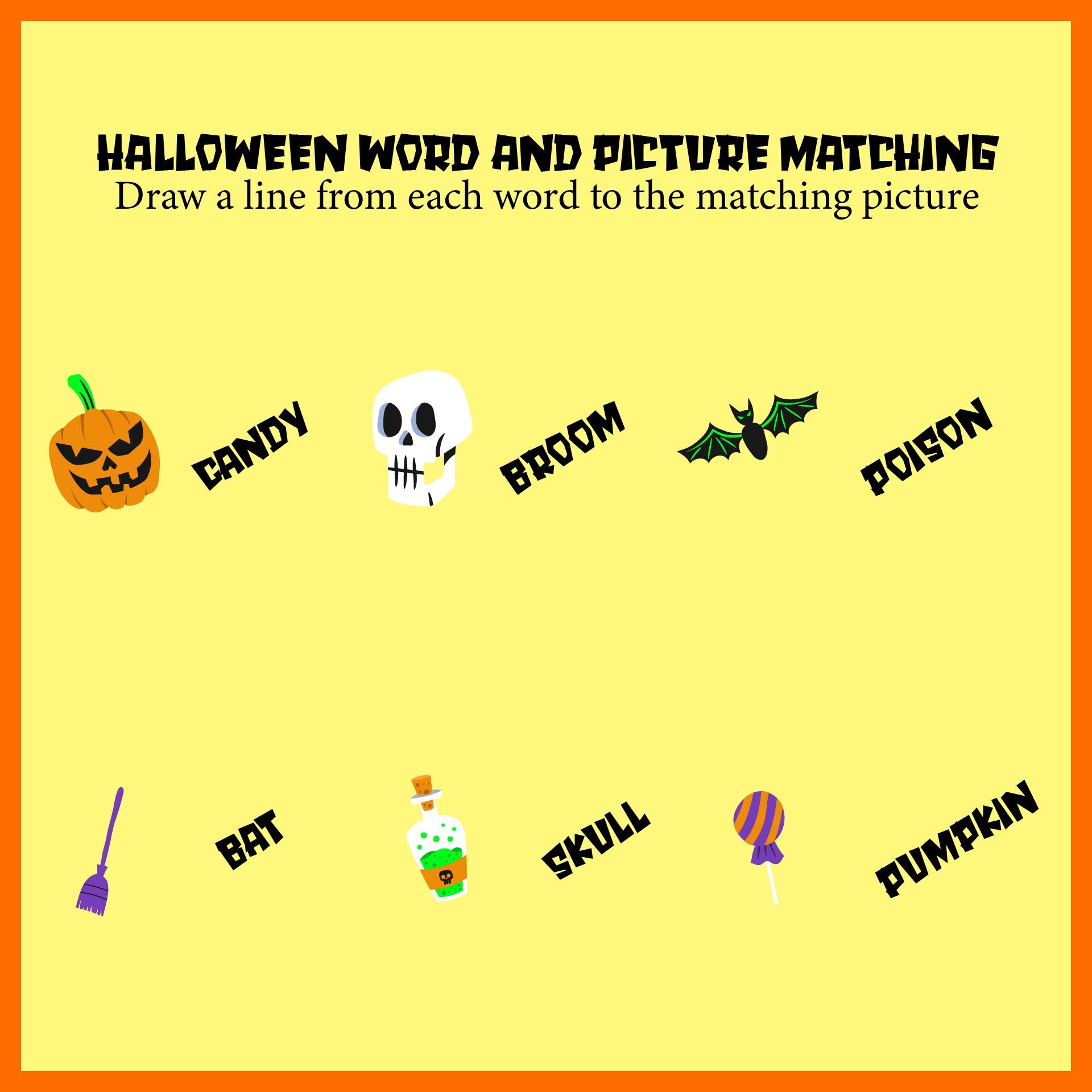 See Free Printable Halloween Worksheets