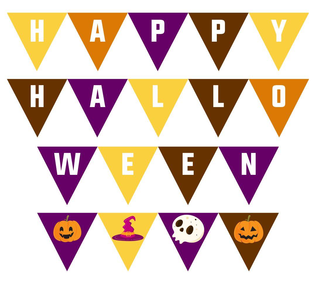 Printable Halloween Garland