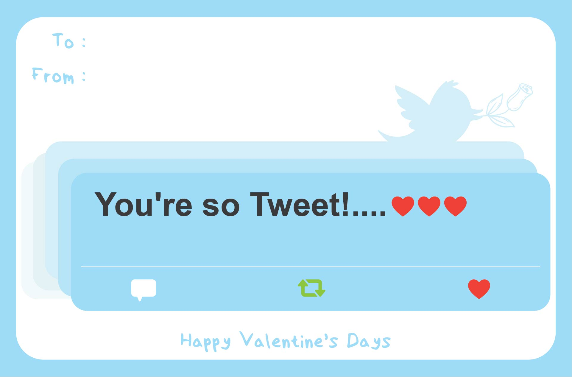 9 Best Images of Printable Valentines Day Cards Online Free – Online Valentine Day Cards