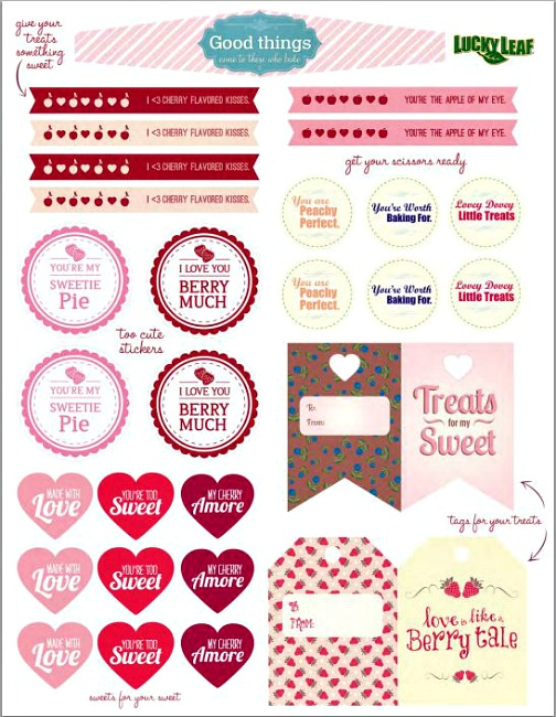5 Images of Chocolate Free Printables
