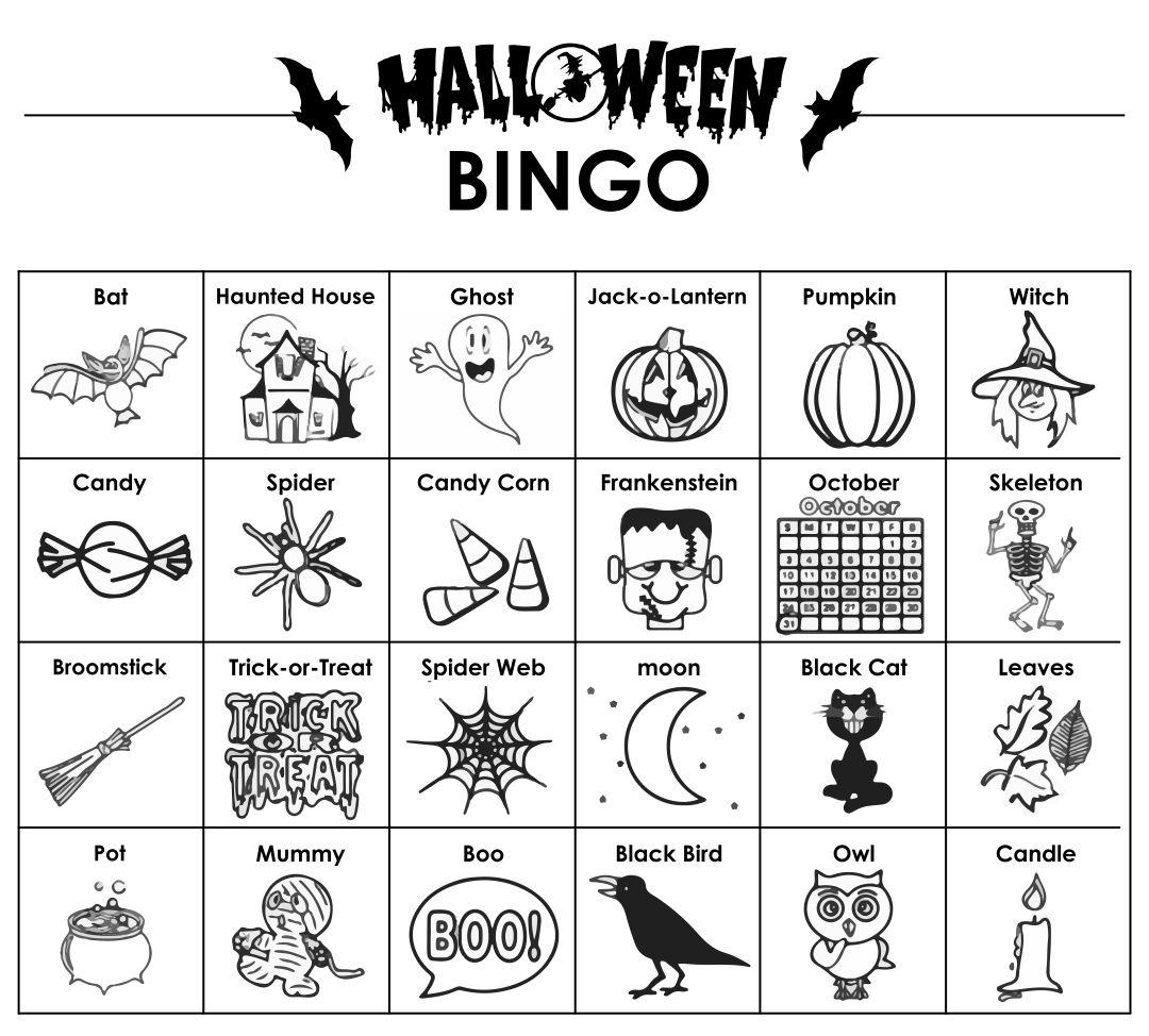 Halloween Printable Activities Classroom