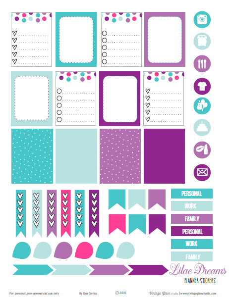 Happy Free Printable Planner Stickers