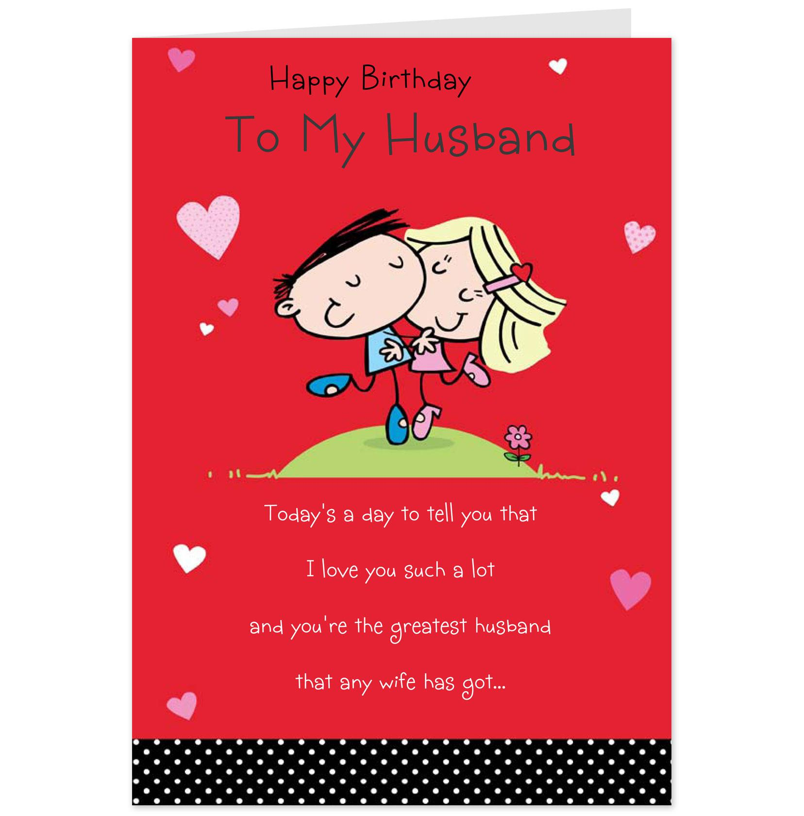 7 best images of husband birthday greetings printable