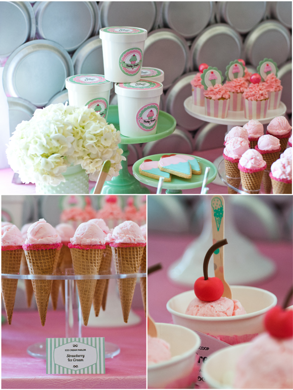 Ice Cream Social Party Ideas