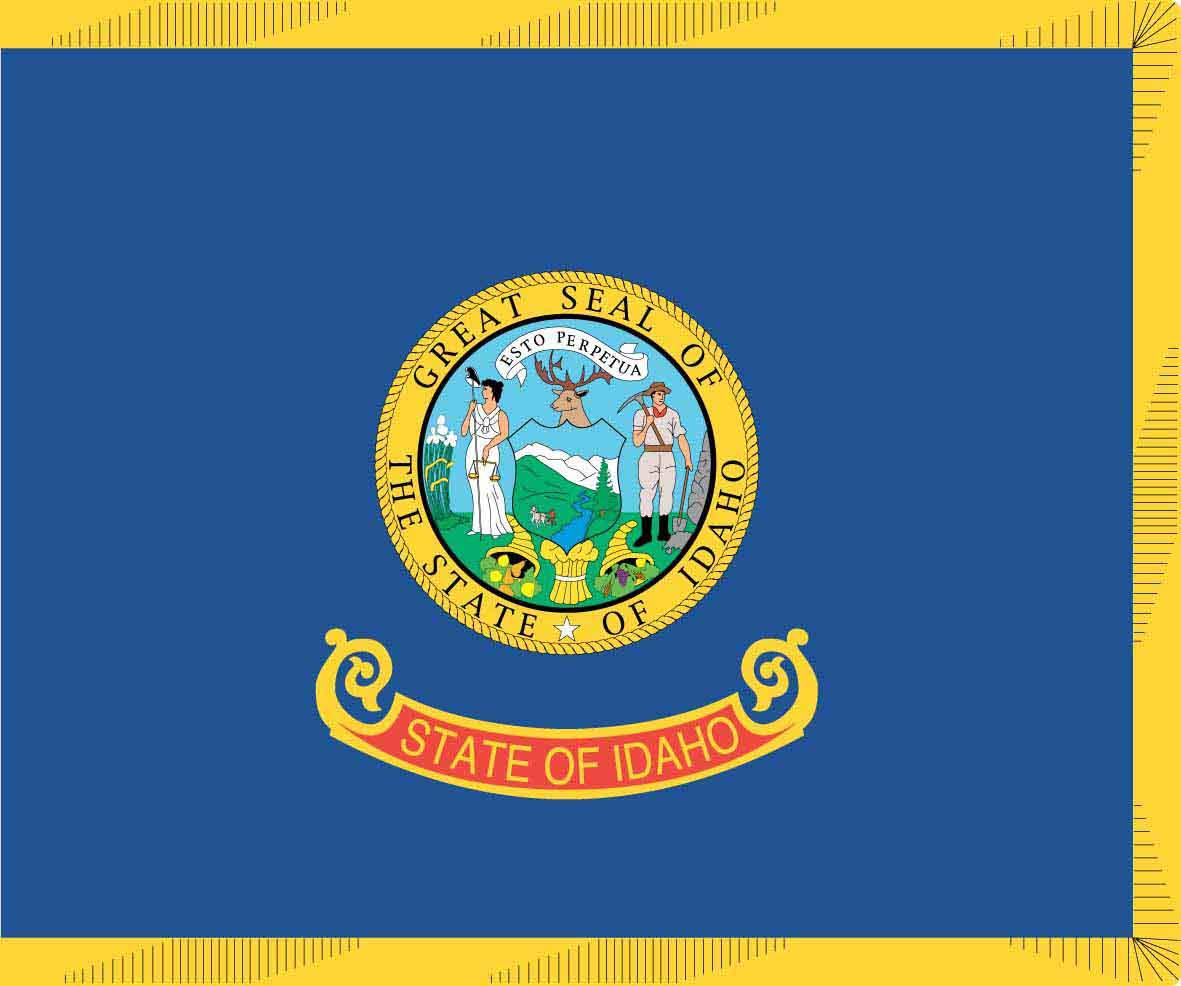 5 Images of Printable Flag Of Idaho