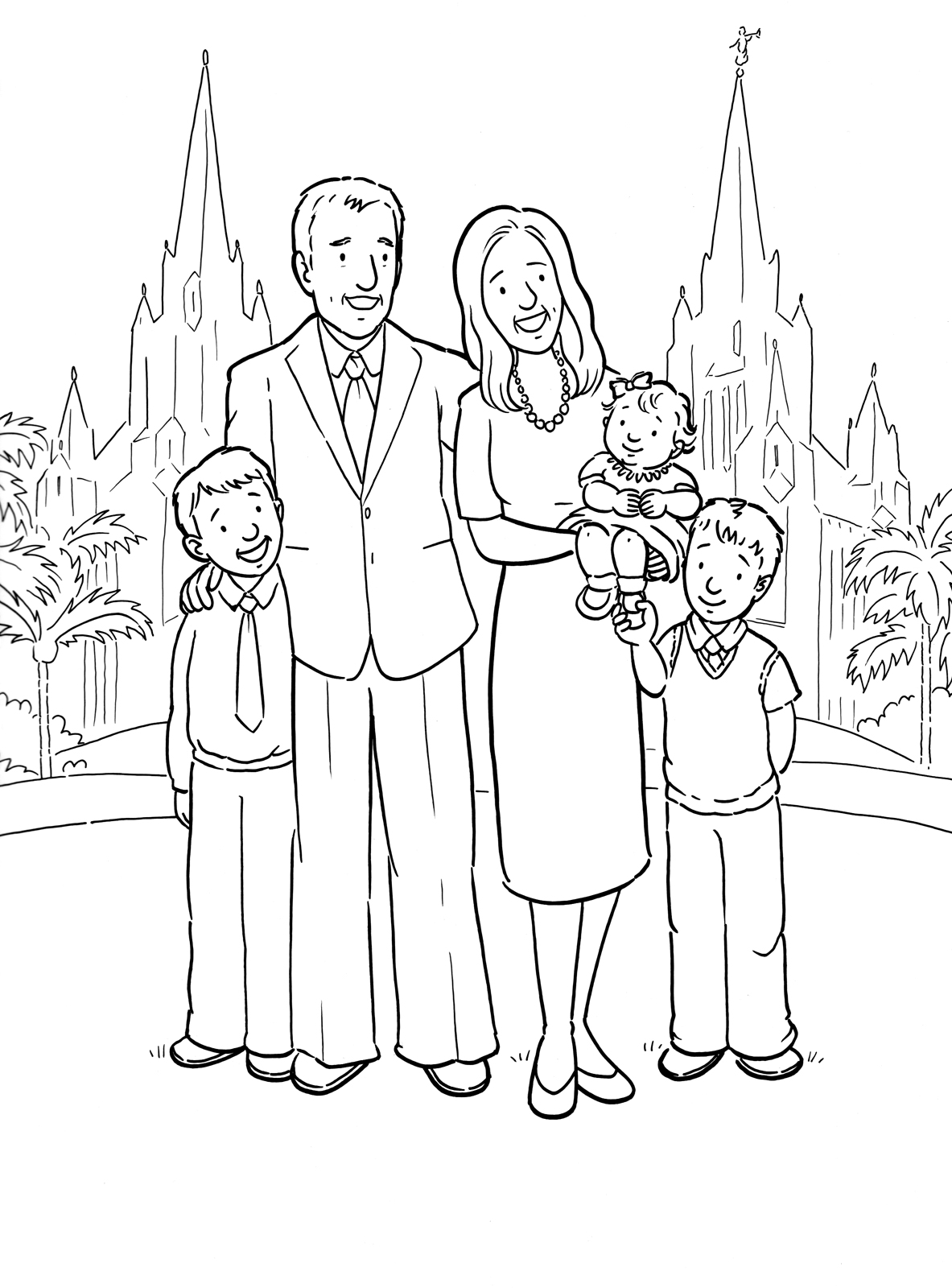 8 Images of LDS Printable Clip Art