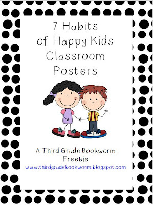 Leader in Me 7 Habits of Happy Kids Posters