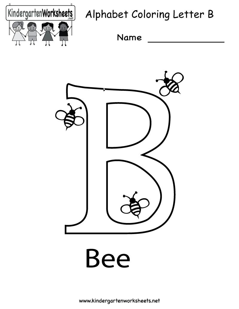 6 Images of Printable Letter B Worksheets