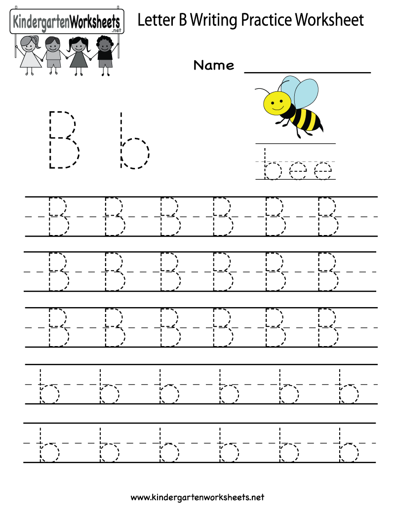 Letter A Worksheets Printable : Best images of printable letter b worksheets