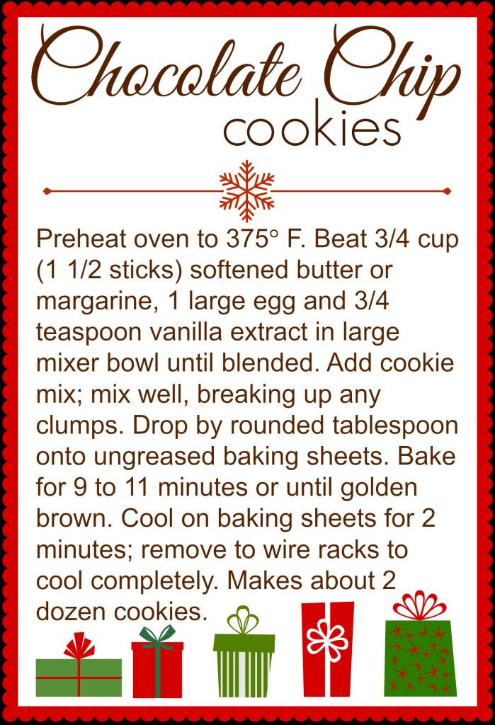 6 Images of Printable Cookie Jar Recipe