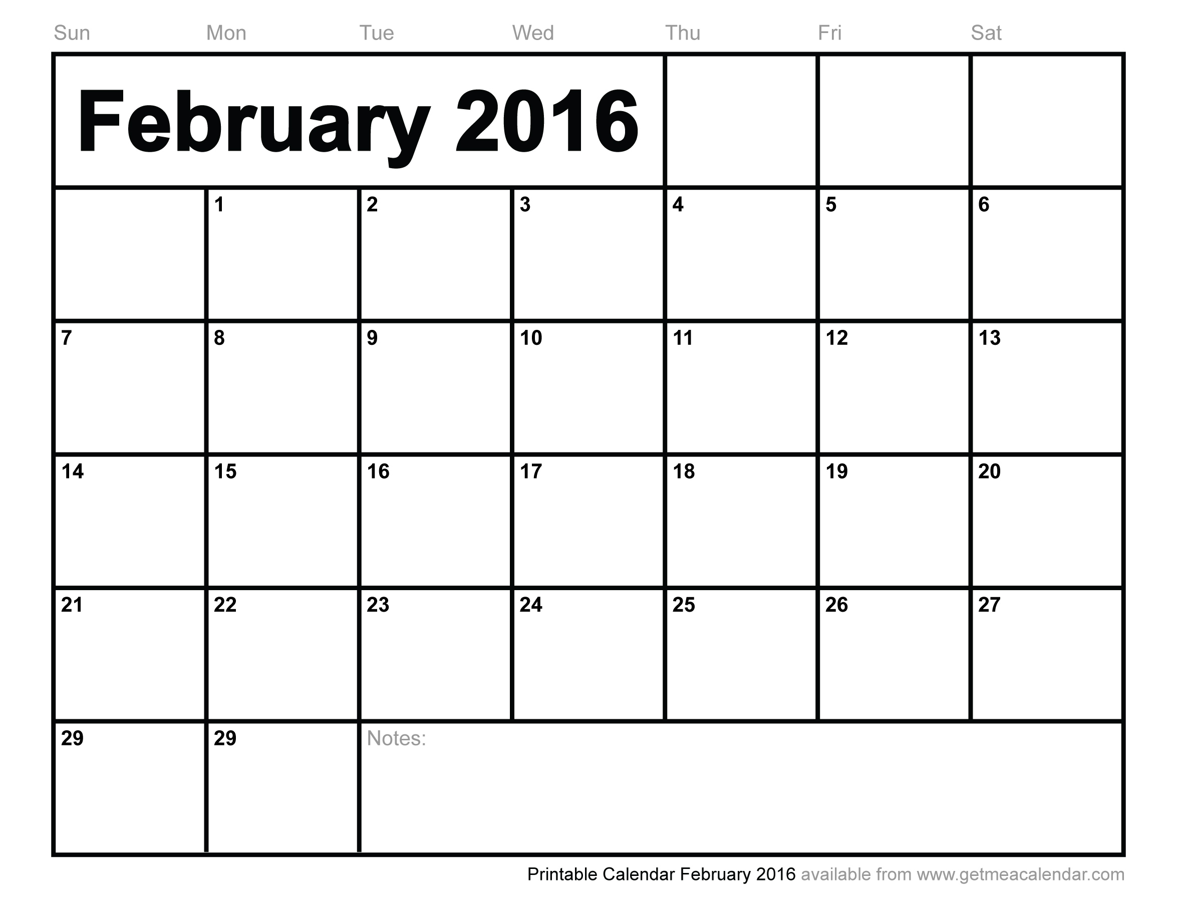 5 Images of 2016 Calendar Printable