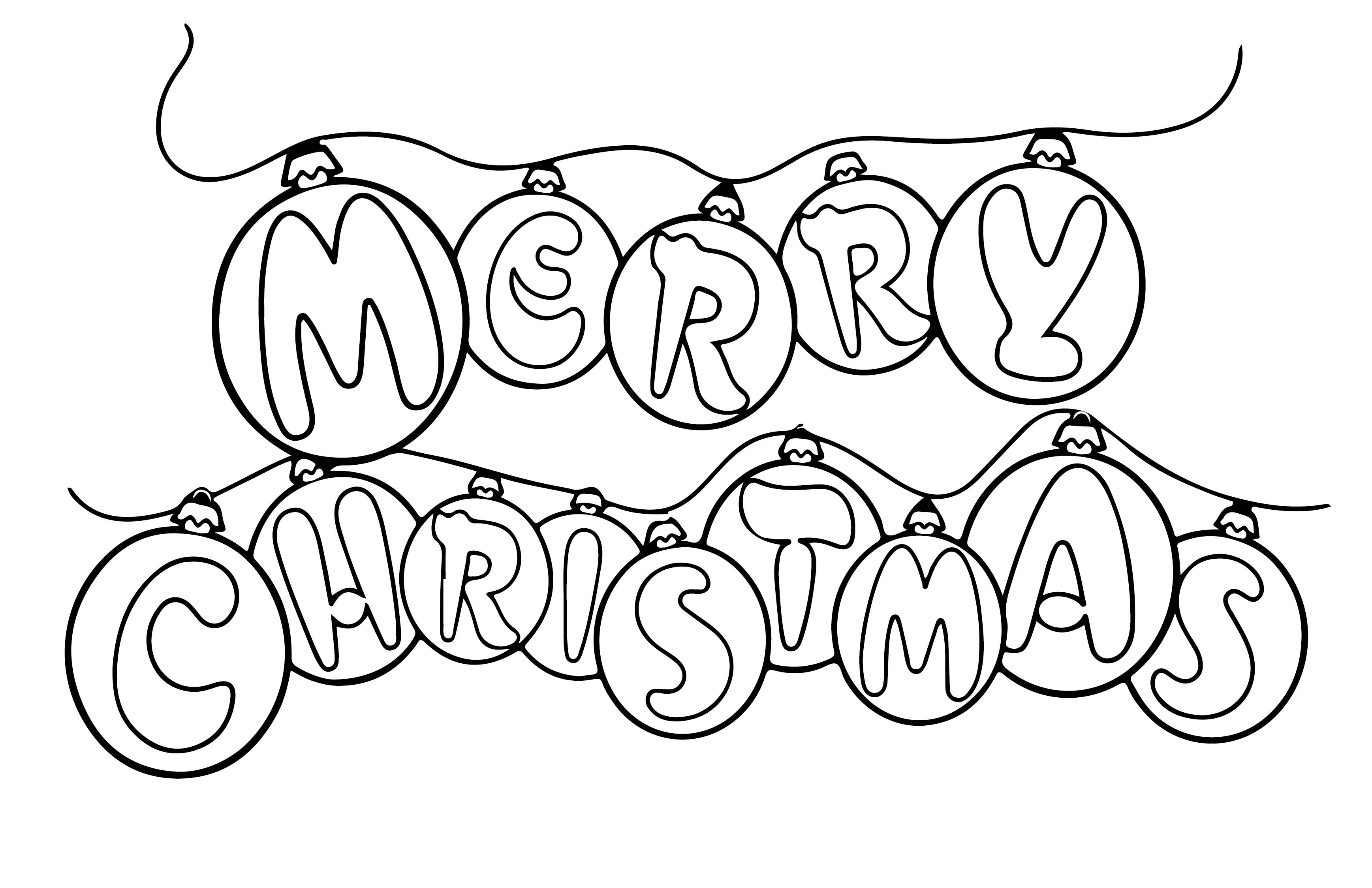 christmas pictures to color pdf