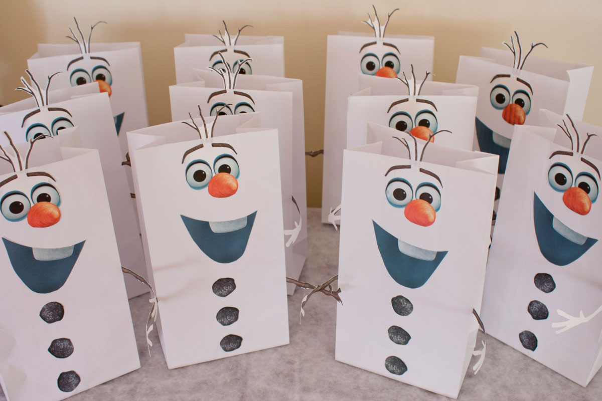 9 Images of Olaf Printable Template For Goodie Bag