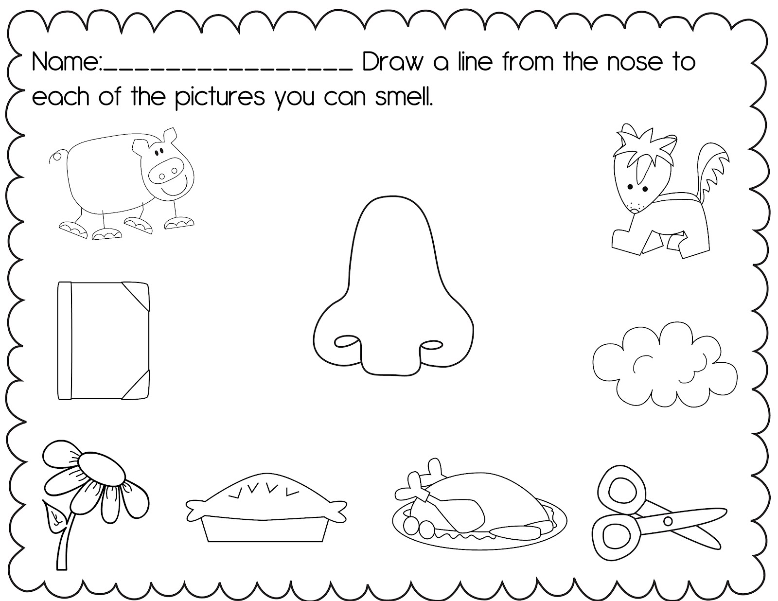 8 Images of Preschool Science Printables
