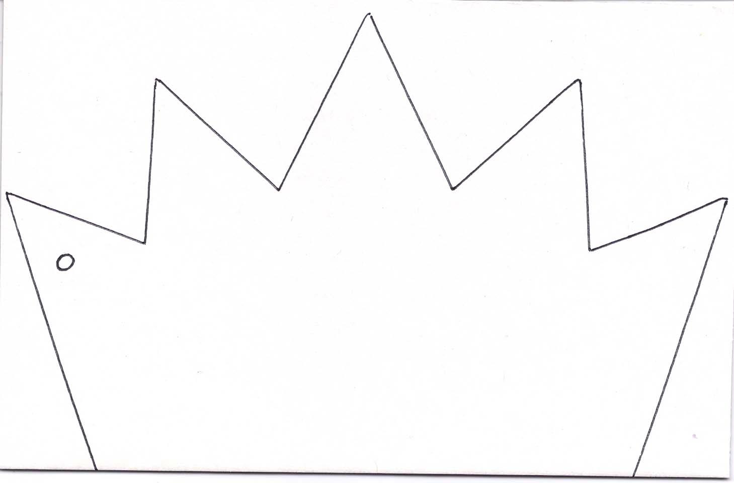 6 best images of free printable king crown template king crown