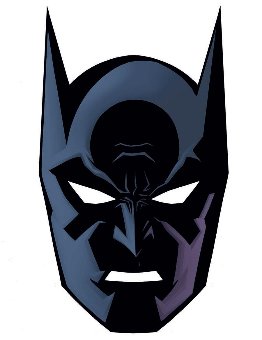 Printable Batman Mask Face