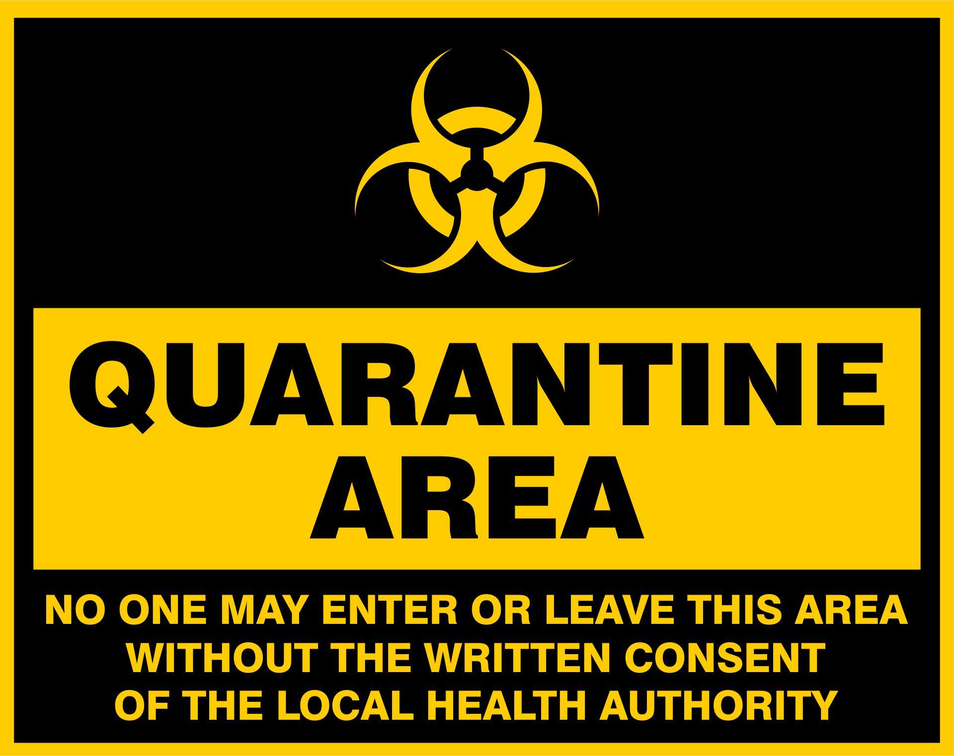 Printable Biohazard Warning Signs