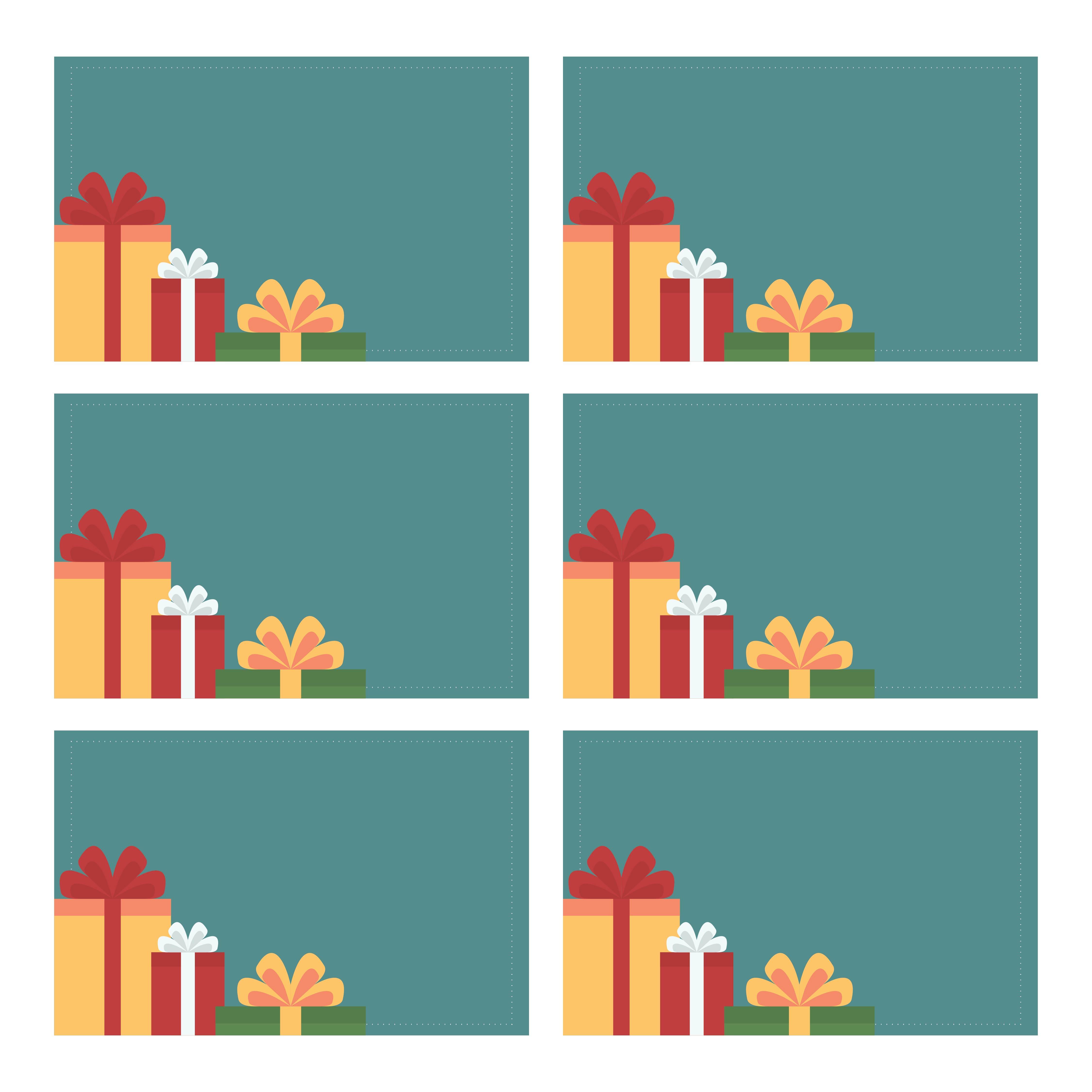 Printable Christmas Tags and Labels