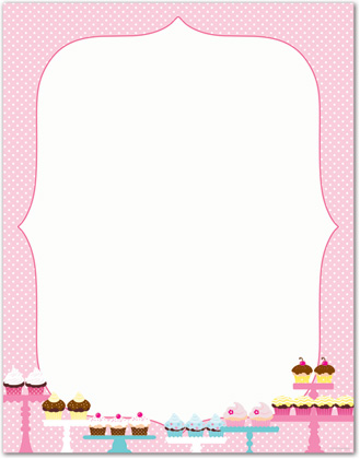 7 Best Images Of Free Printable Cupcake Stationery Free