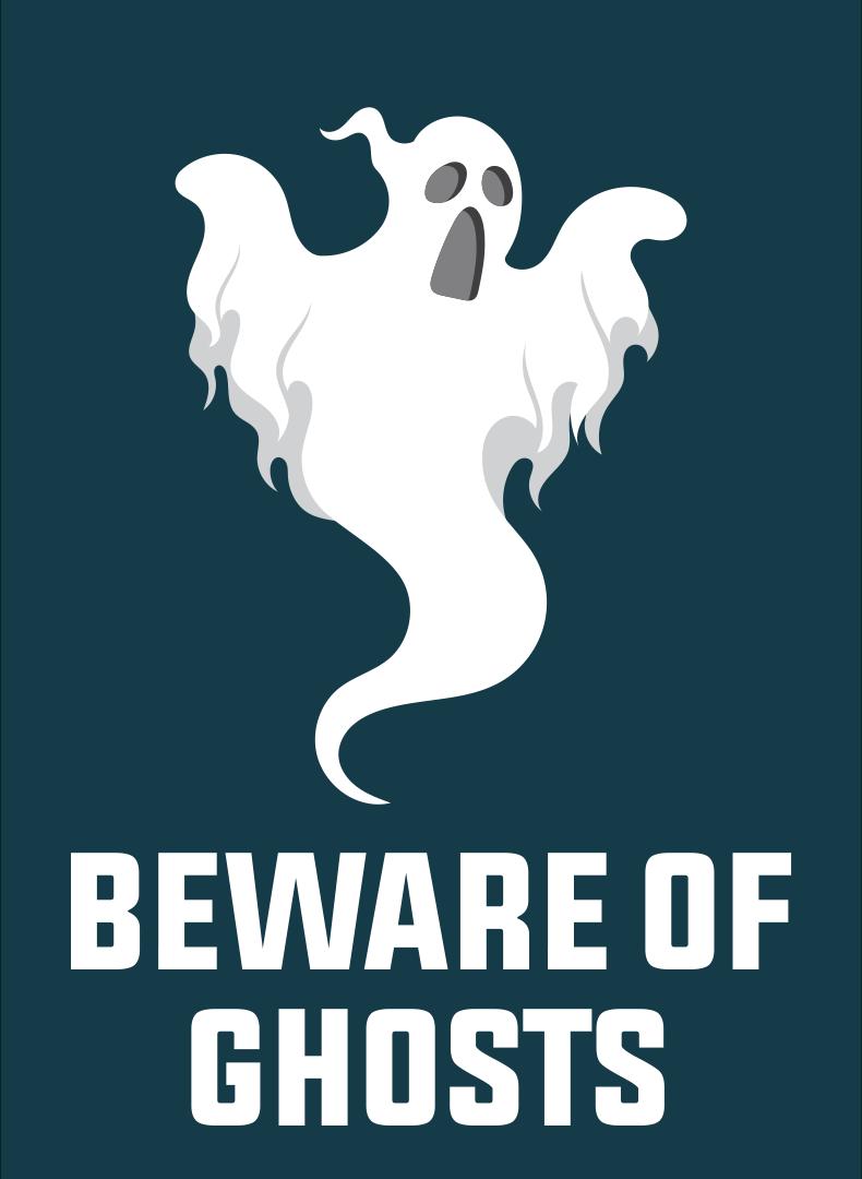 Printable Halloween Beware Signs