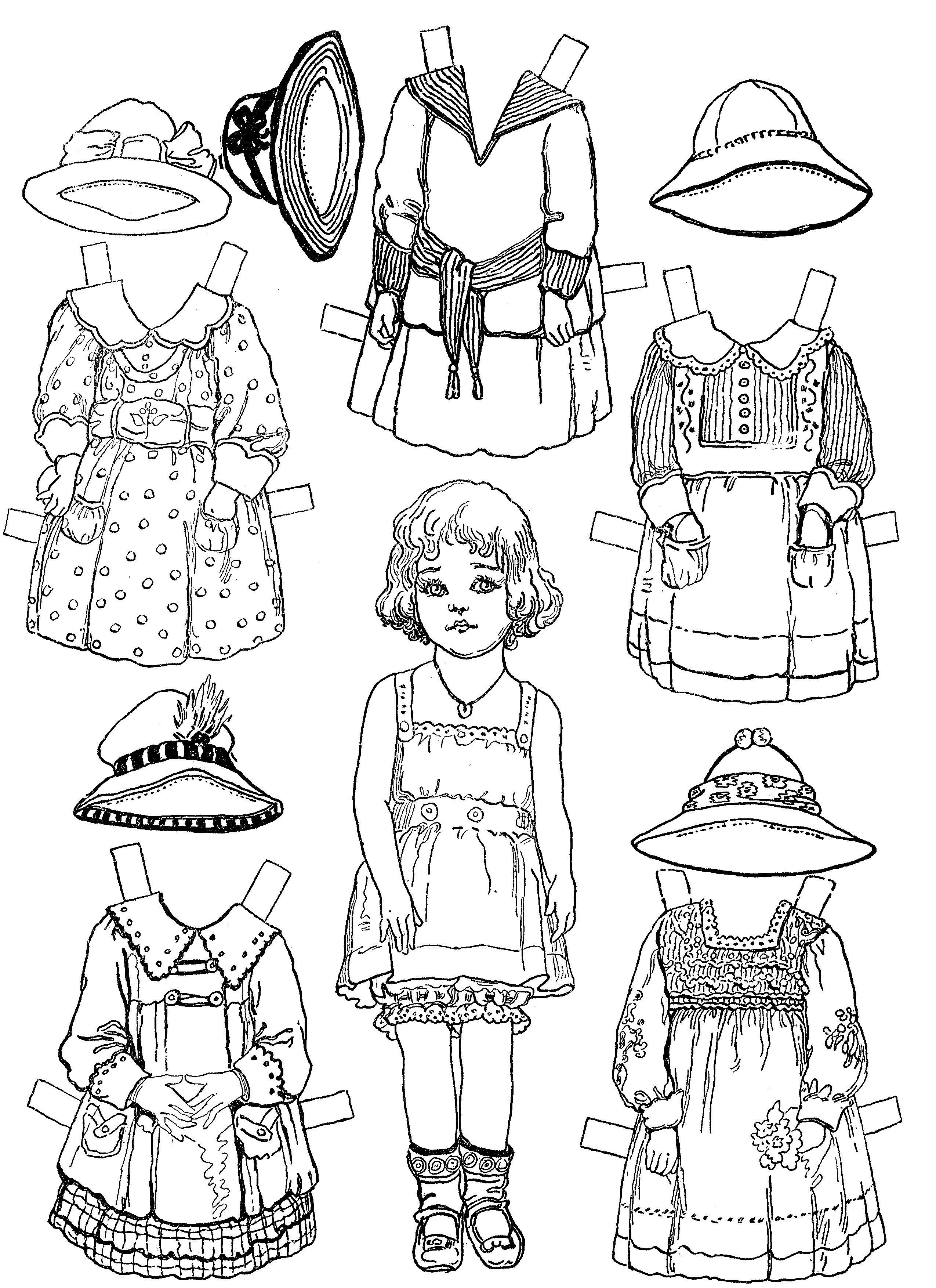 Adult Cute Colonial Coloring Pages Gallery Images top colonial paper dolls free baby ideas printable doll coloring pages gallery images
