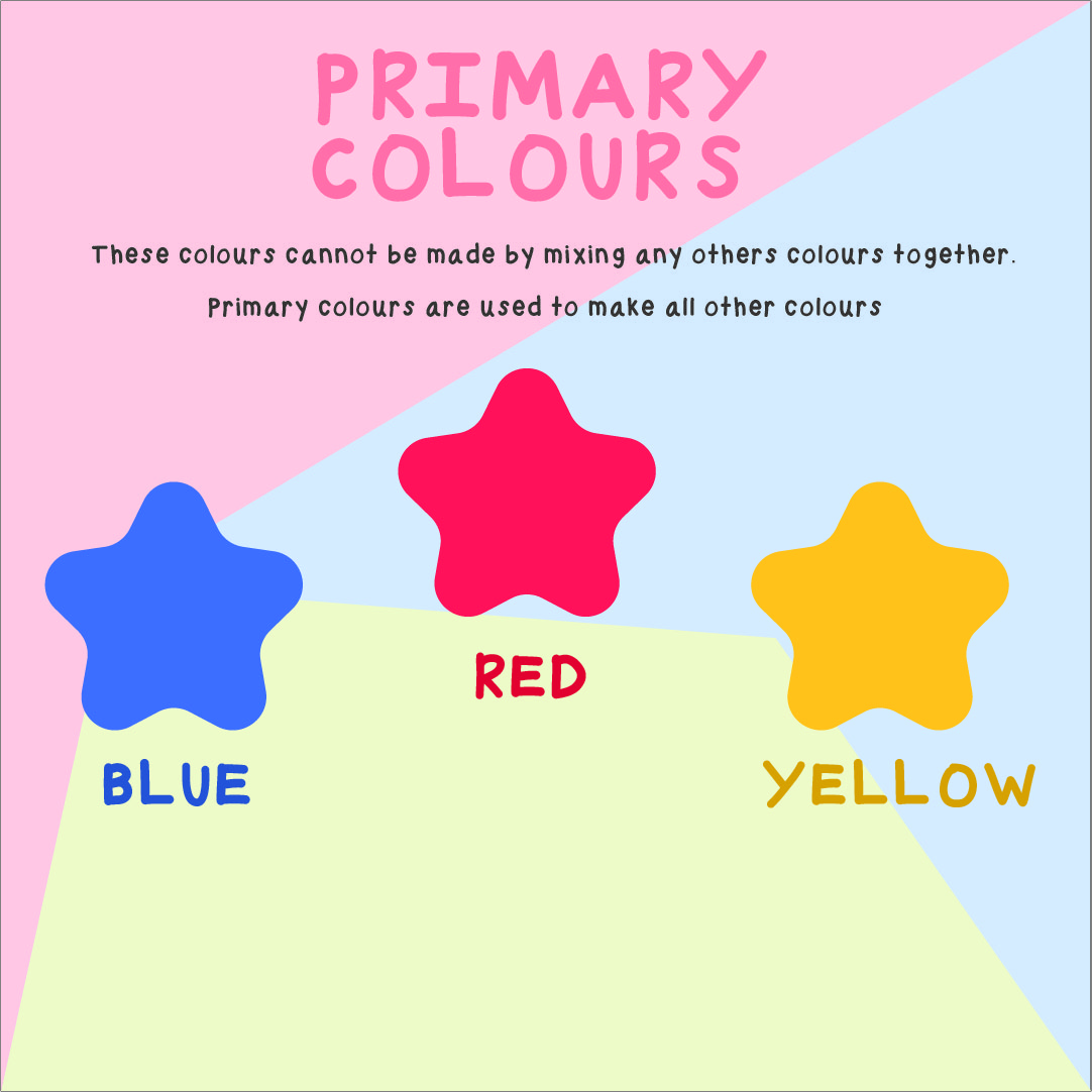 Printable Primary Color Chart
