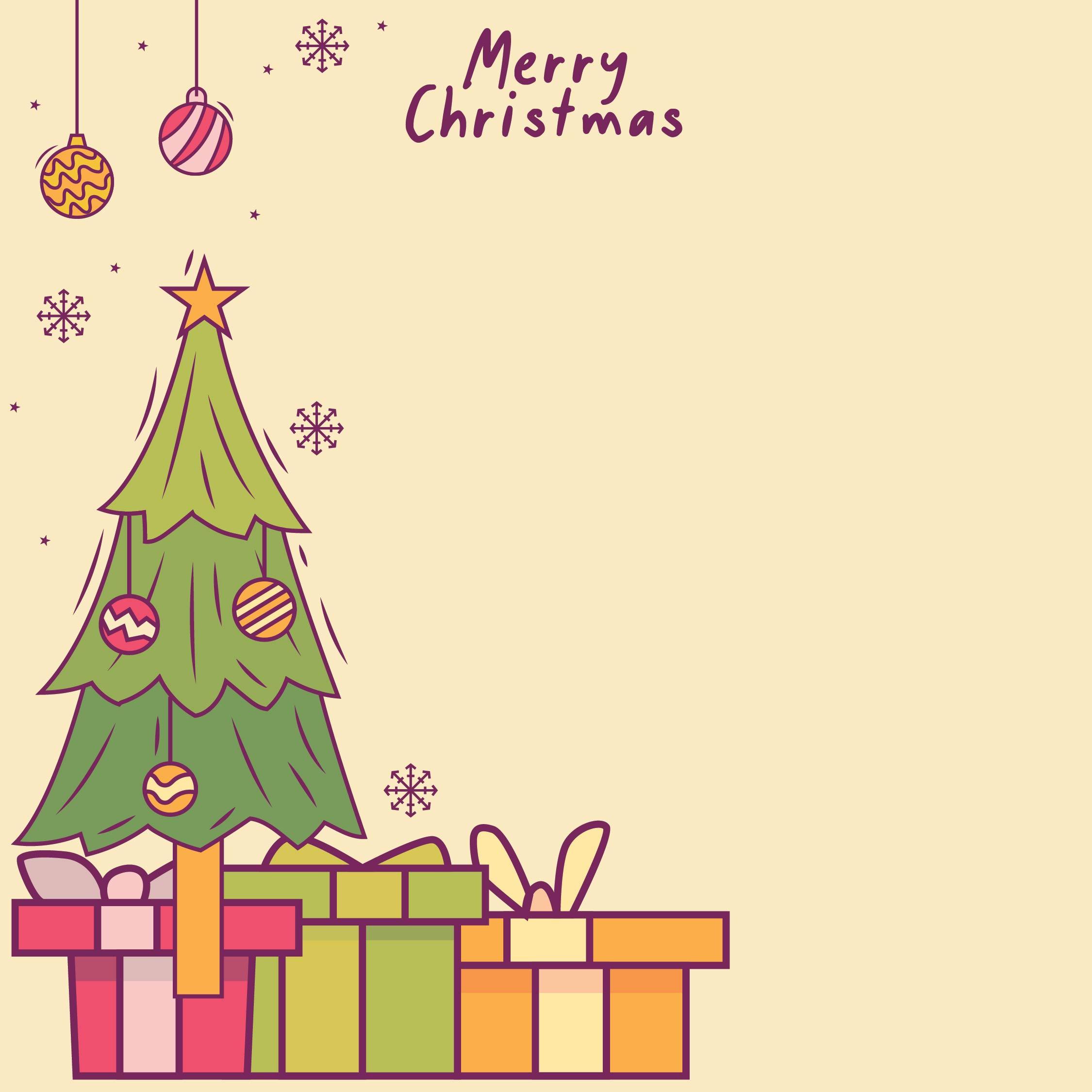 Printable Quarter Fold Christmas Cards